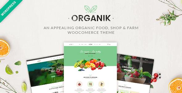 Organik 2.9.8 – An Appealing Organic Store Farm & Bakery WooComerce theme