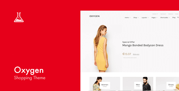 Oxygen 5.9 – WooCommerce WordPress Theme