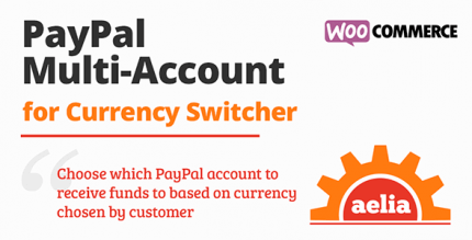 Aelia WooCommerce PayPal Standard (Multi Account) 1.3.17.210513