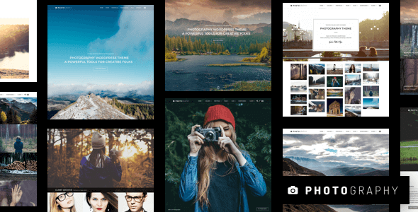 Photography 6.9.12 NULLED – Responsive Photography Theme
