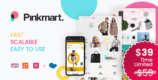 Pinkmart 3.0.0 NULLED – AJAX theme for WooCommerce