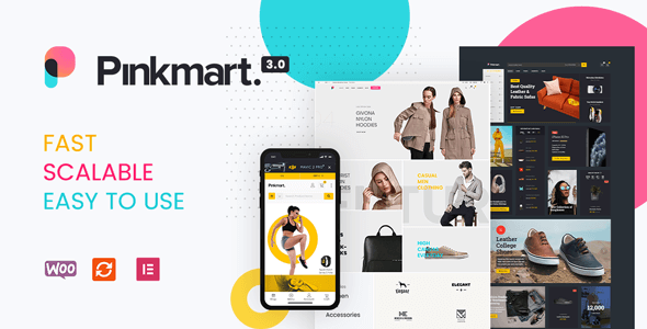 Pinkmart 3.1.2 NULLED – AJAX theme for WooCommerce