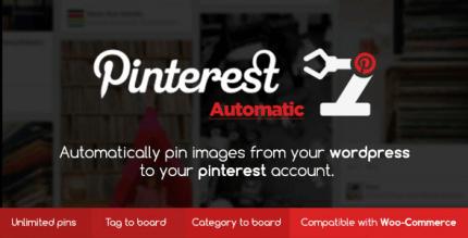 Pinterest Automatic Pin WordPress Plugin 4.14.3 NULLED