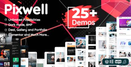 Pixwell 7.2 – Modern Magazine