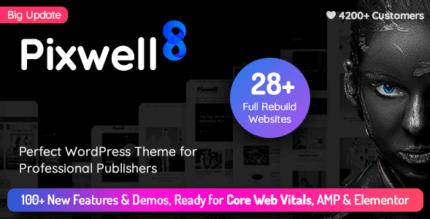 Pixwell 8.1 – Modern Magazine