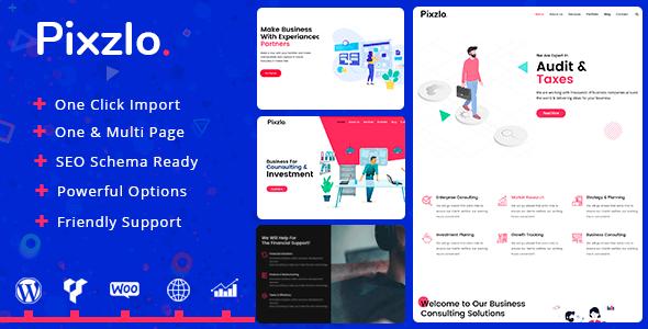 Pixzlo 1.1.3 – Creative Theme for Professionals