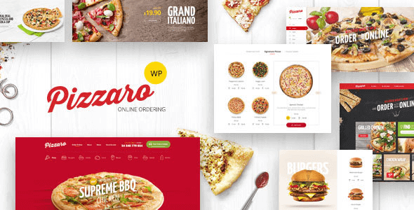 Pizzaro 1.3.6 – Fast Food & Restaurant WooCommerce Theme