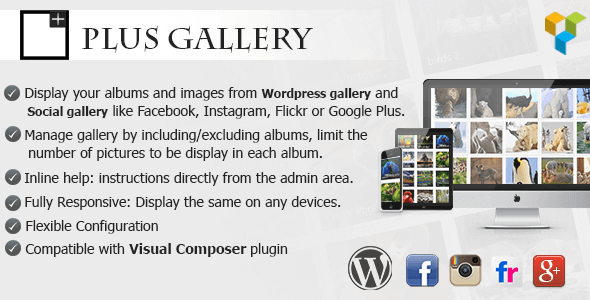 Justified Social Gallery 4.0 – A Responsive photo WP gallery and Social gallery