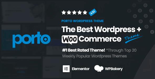 Porto 6.2.0 NULLED – Responsive WordPress WooCommerce Theme