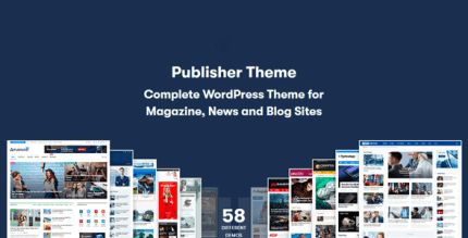 Publisher 7.10.0RC4 NULLED – Magazine Blog Newspaper and Review WordPress Theme