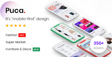 Puca 2.3 – Optimized Mobile WooCommerce Theme