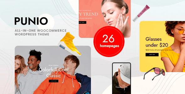 Punio 1.0.1 – All-in-one WooCommerce WordPress Theme