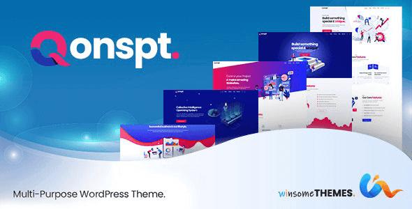 Qonspt 1.3.0 – Isometric MultiPurpose WordPress Theme