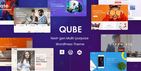 Qube 1.1.3 – Responsive Multi-Purpose Theme