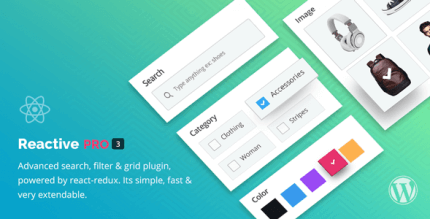 Reactive Pro 4.0.9 – Advanced WordPress Search Filter Map & Grid