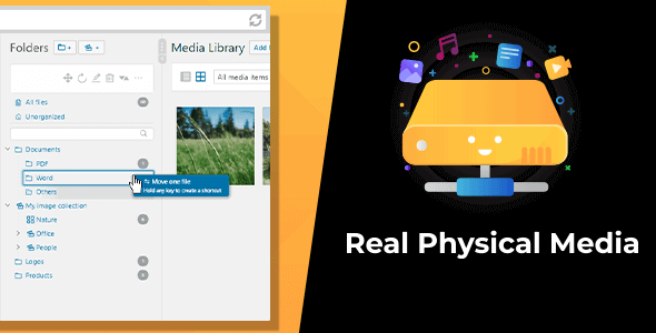 WordPress Real Physical Media 1.4.1 NULLED – Physical Media Library Folders & SEO Rewrites