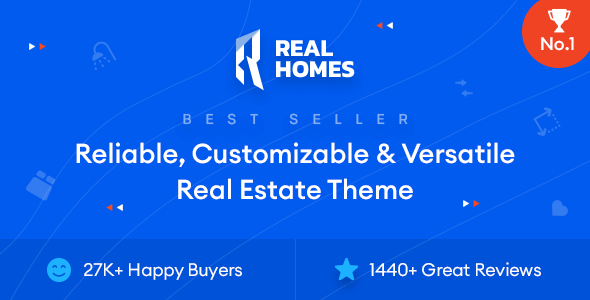 Real Homes 3.15.1 NULLED – WordPress Real Estate Theme
