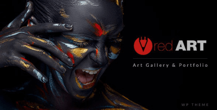 Red Art 2.4 – Photography Art Gallery, Art School Theme