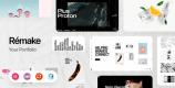 Remake 1.0.10 – Minimal Portfolio & Agency Theme