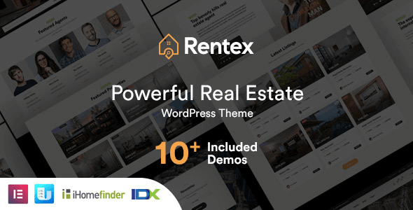 Rentex 1.9.2 – Real Estate WordPress Theme