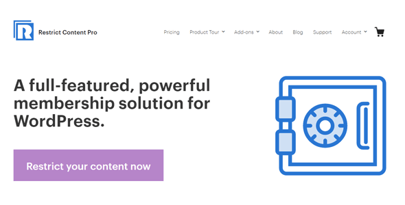 Restrict Content Pro 3.5.12 – A simple, yet powerful membership solution for WordPress + All Addons
