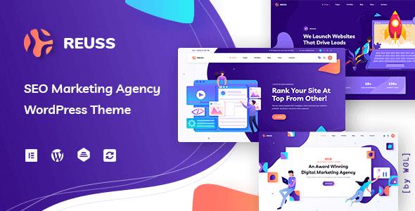 Reuss 1.0.7 NULLED – SEO Marketing Agency WordPress Theme