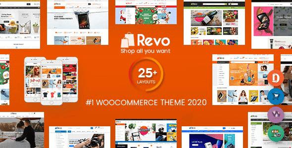 Revo 4.0.7 NULLED – Multi-Purpose Responsive WooCommerce Theme