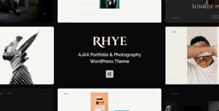 Rhye 2.5.5 – AJAX Portfolio WordPress Theme