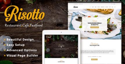 Risotto 1.3.2 – WordPress Restaurant & Cafe Theme