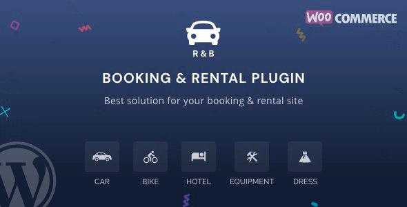 RnB 11.0.1 – WooCommerce Booking & Rental Plugin