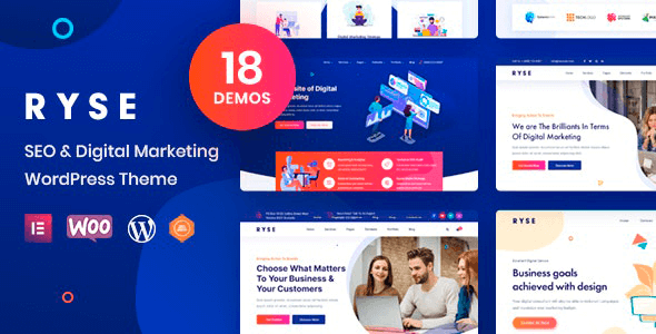Ryse 3.0.3 – SEO & Digital Marketing Theme