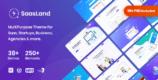 SaasLand 3.3.6 NULLED – MultiPurpose WordPress Theme for Saas & Startup