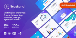 SaasLand 3.3.4 NULLED – MultiPurpose WordPress Theme for Saas & Startup