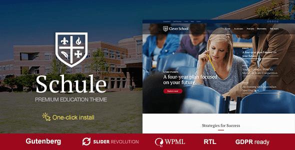 Schule 1.1.0 – School & Education Theme