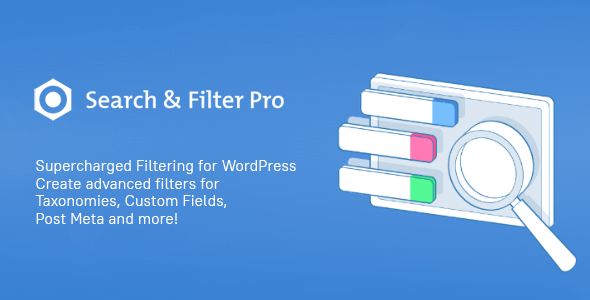 Search & Filter Pro 2.5.7 – The Ultimate WordPress Filter Plugin + Extensions