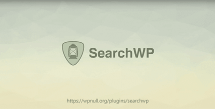 SearchWP 4.1.18 – The Best WordPress Search You Can Find + All Addons