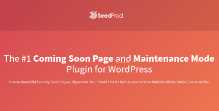 SeedProd Coming Soon Page Pro 6.3.1 NULLED
