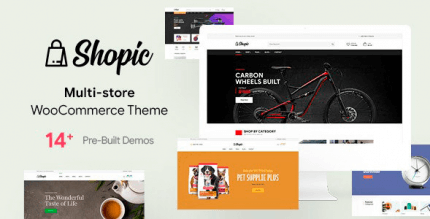 Shopic 2.1.0 – Multipurpose WooCommerce WordPress Theme