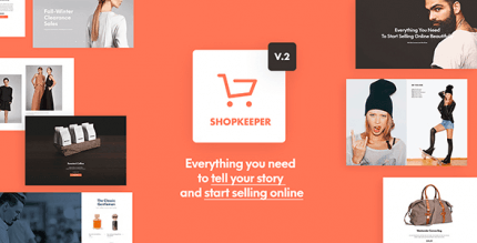 Shopkeeper 2.9.43 – eCommerce WP Theme for WooCommerce