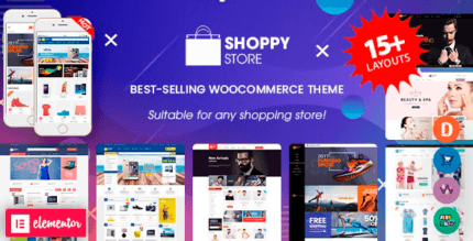 ShoppyStore 3.7.0 NULLED – WooCommerce WordPress Theme