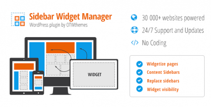 sidebar-widget-manager