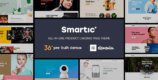 Smartic 1.8.1 – Product Landing Page WooCommerce Theme