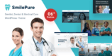 SmilePure 1.2.0 – Dental & Medical Care WordPress Theme