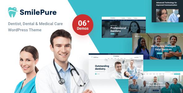 SmilePure 1.2.1 – Dental & Medical Care WordPress Theme