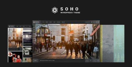 SOHO 2.8.3 NULLED – Fullscreen Photo & Video WordPress Theme