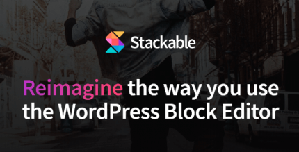 Stackable Premium 2.15.3 NULLED – Ultimate Gutenberg Blocks