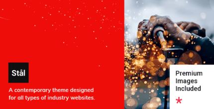 Stål 1.3 NULLED – Industry WordPress Theme