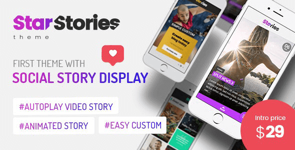 StarStories 1.2 – Creative Magazine & Blog theme