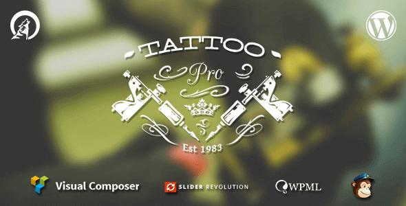TattooPress 3.2.8 – Your Tattoo Shop WordPress Theme