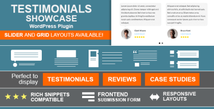 Testimonials Showcase 1.9.10 – WordPress Plugin